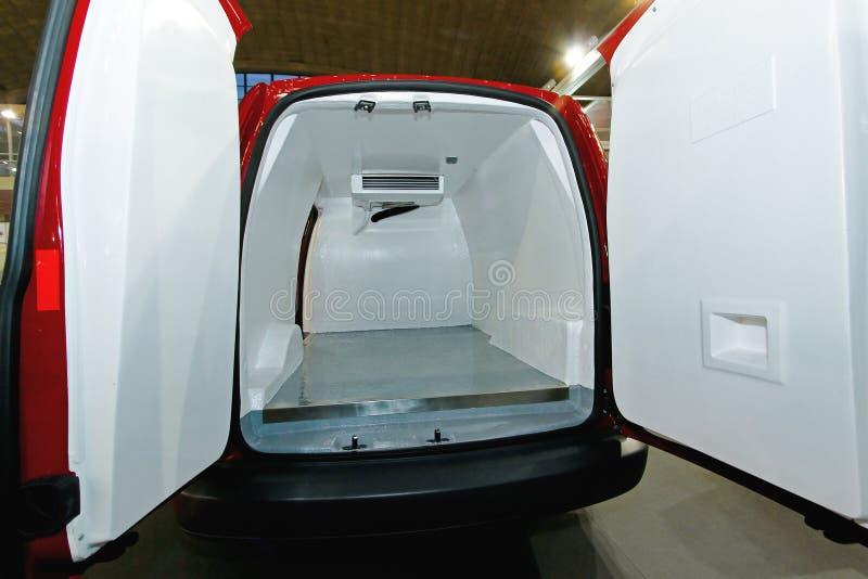 Koelkastbestelwagen royalty-vrije stock fotografie