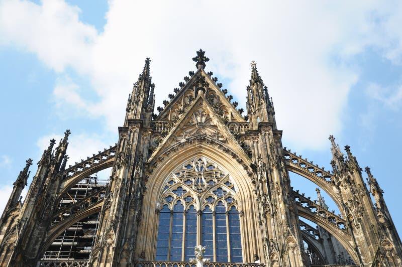 Koeln的中世纪大教堂 免版税库存图片