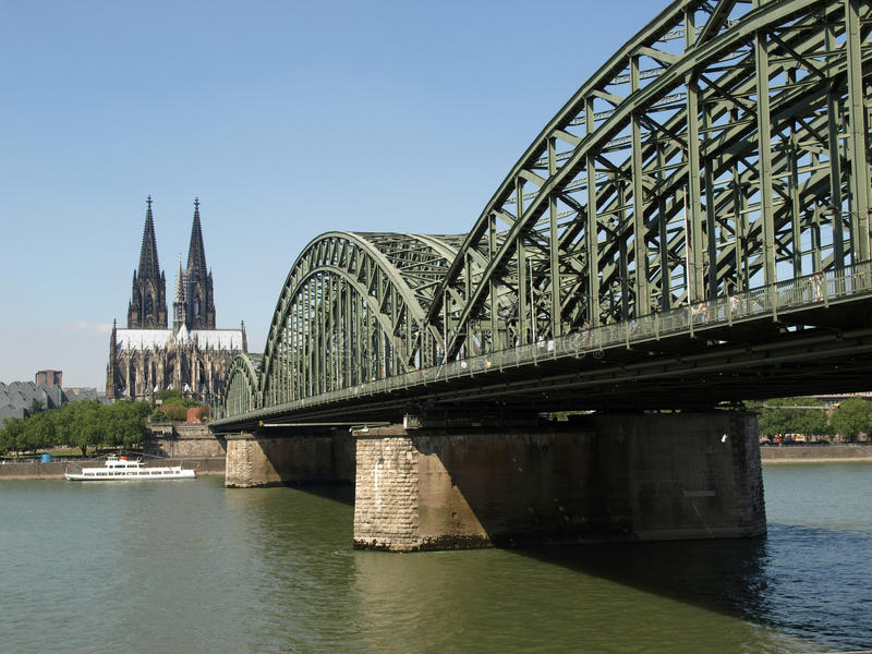 Download Koeln panorama stock image. Image of bridge, deutschland - 10590017