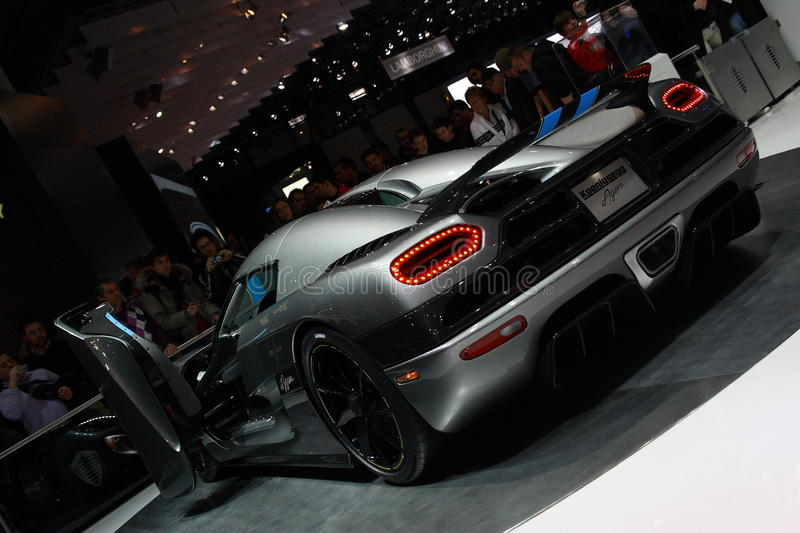 Download Koenigsegg Agera editorial image. Image of preview, prototype - 15314210