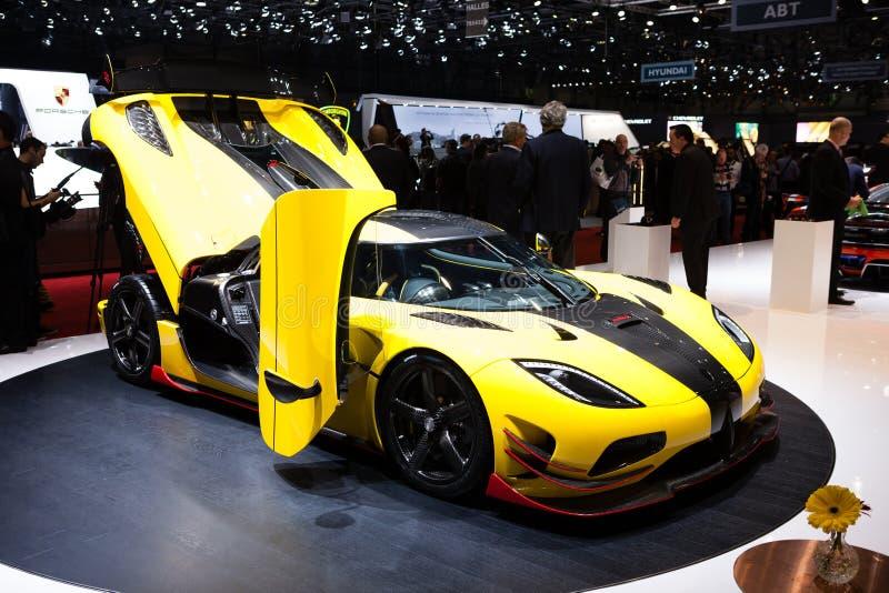 Koenigsegg Agera ml photographie stock libre de droits