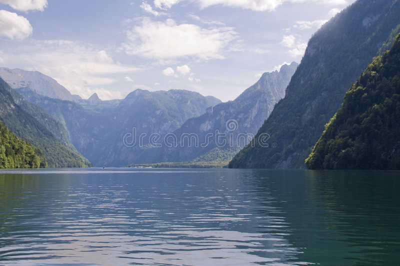 Download Koenigssee stock image. Image of hill, natural, bavaria - 7487077
