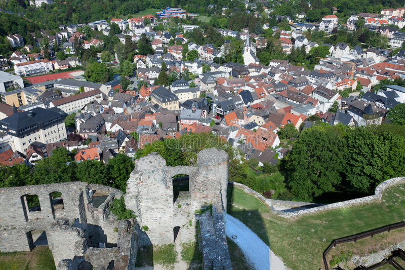 Download Koenigstein Altstadt And Castle Stock Image - Image: 19578803