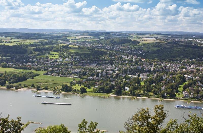 Koenigswinter, Alemanha, Europa imagens de stock royalty free