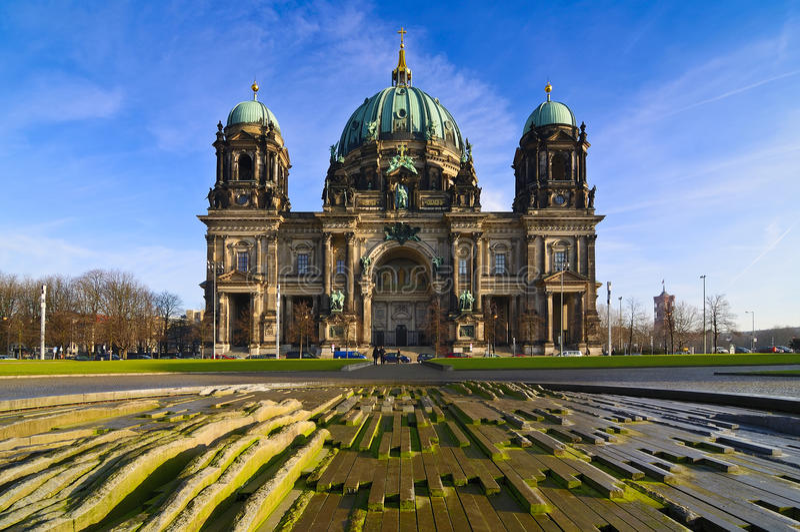 Koepel in Berlijn, Duitsland royalty-vrije stock fotografie