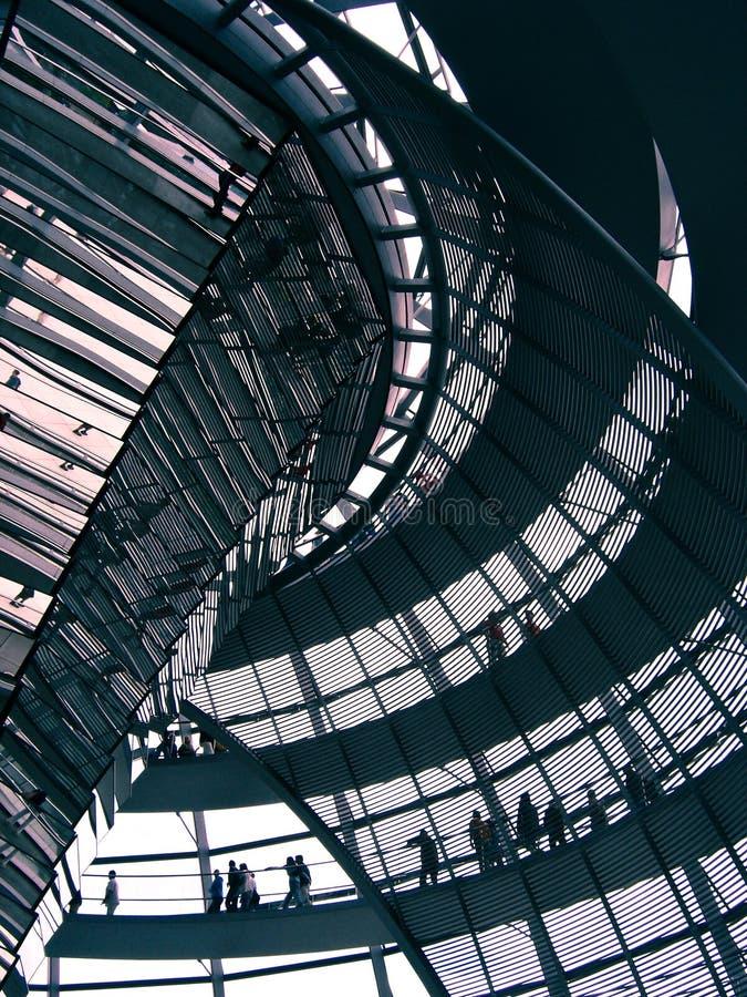Koepel Berlijn - Reichstag royalty-vrije stock afbeeldingen