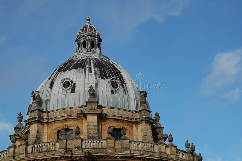 Koepel, de Universiteit van Oxford stock afbeelding