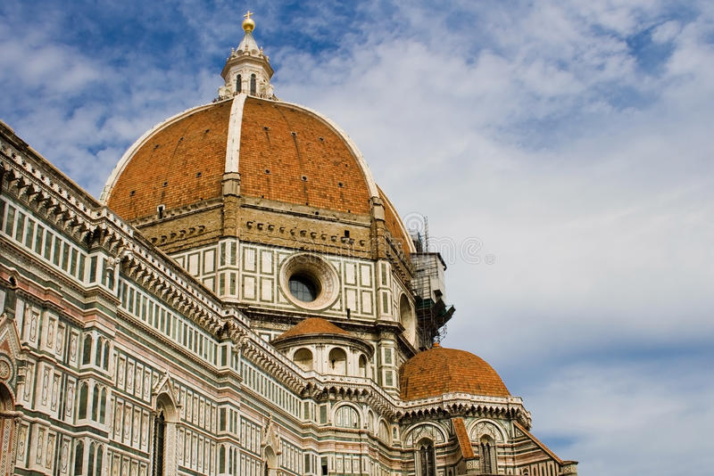 Koepel van Brunelleschi stock fotografie