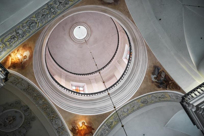 Koepel van de kathedraal stock afbeelding