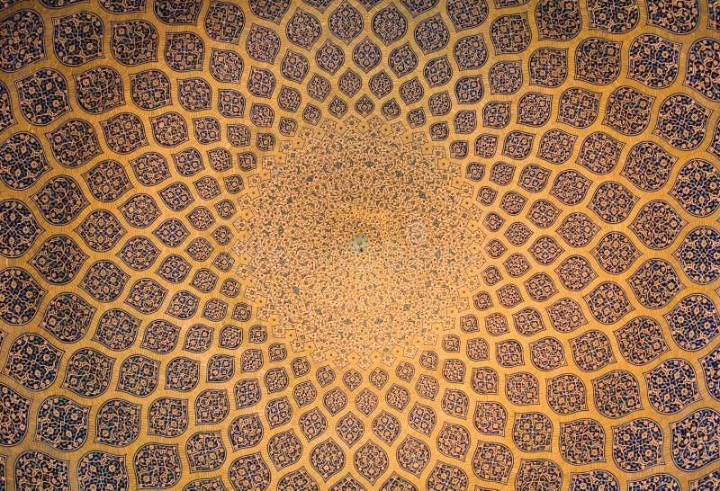 Koepel van de moskee stock afbeeldingen