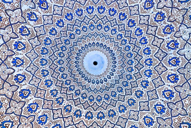 Koepel van de moskee royalty-vrije illustratie