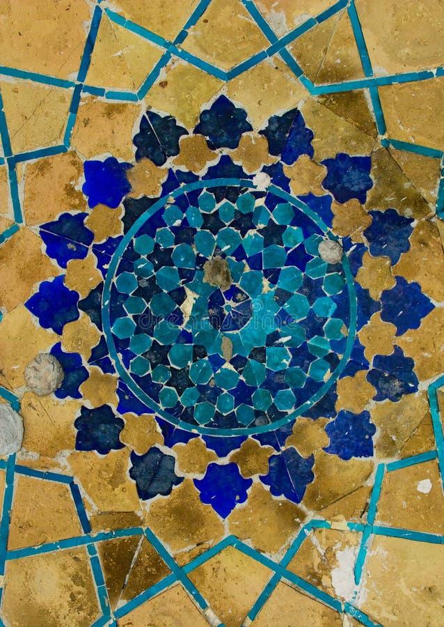Koepel van de moskee stock fotografie