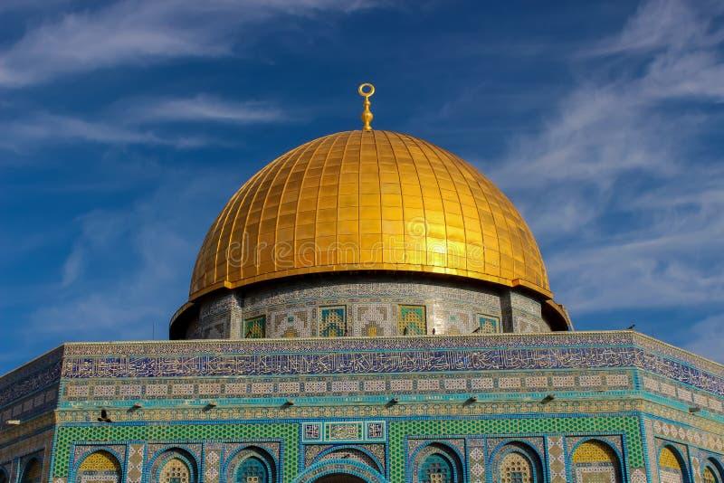 Koepel van de Rots in Jeruzalem royalty-vrije stock fotografie