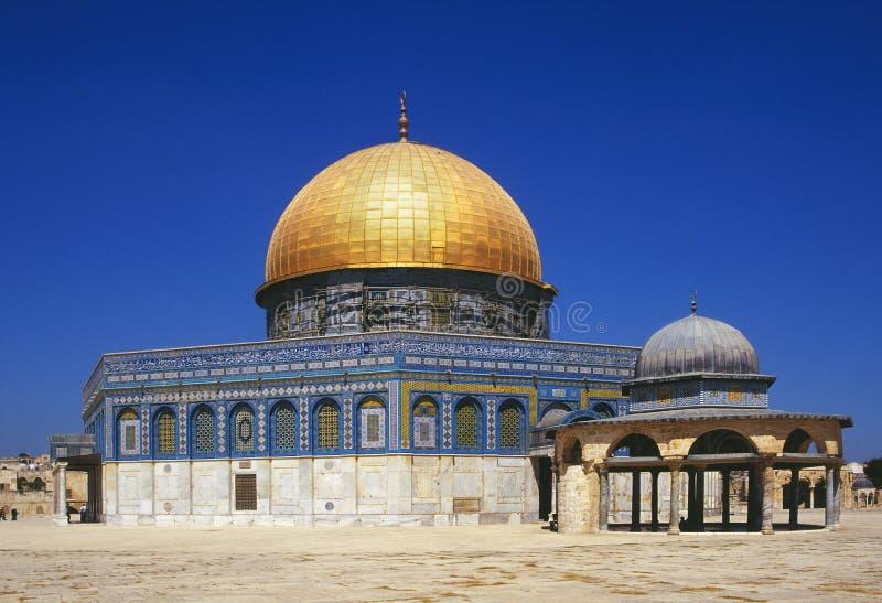 Koepel van de Rots - Jeruzalem - Israël royalty-vrije stock afbeeldingen