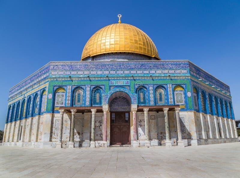 Koepel van de Rots Jeruzalem Israël stock afbeeldingen