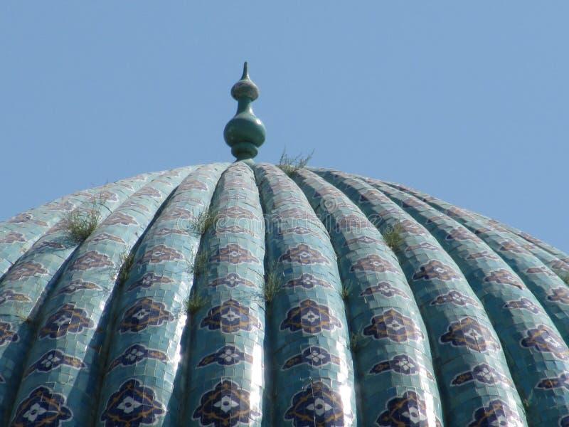 Koepel van madrasa royalty-vrije stock afbeelding