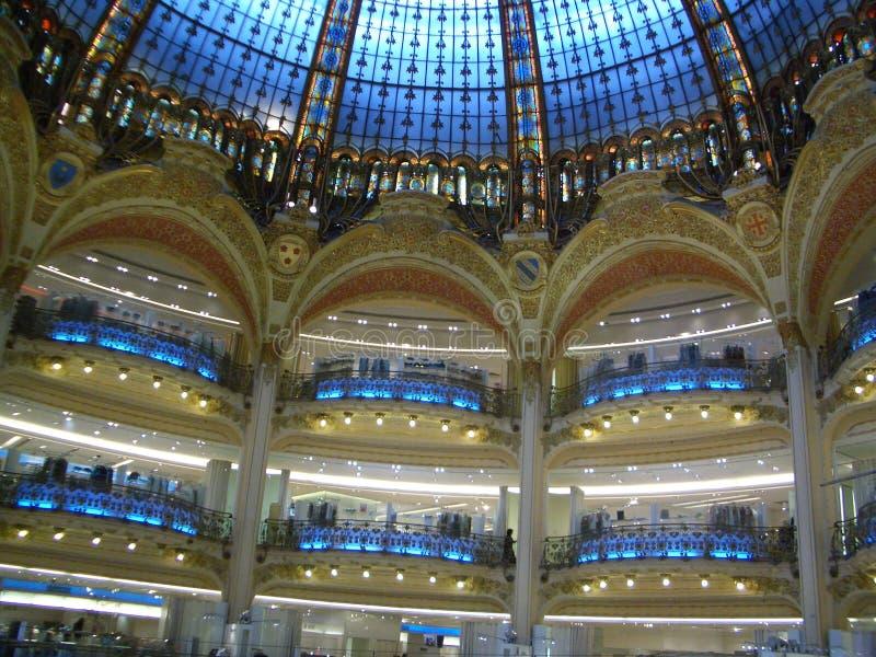 Koepelplafond Parijs stock foto's