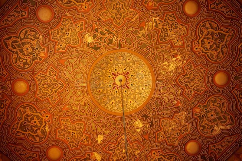 Download Koepels (binnen Een Deel) Van Een Oude Moskee Van Alexandrië Stock Foto - Afbeelding bestaande uit islam, east: 10781532
