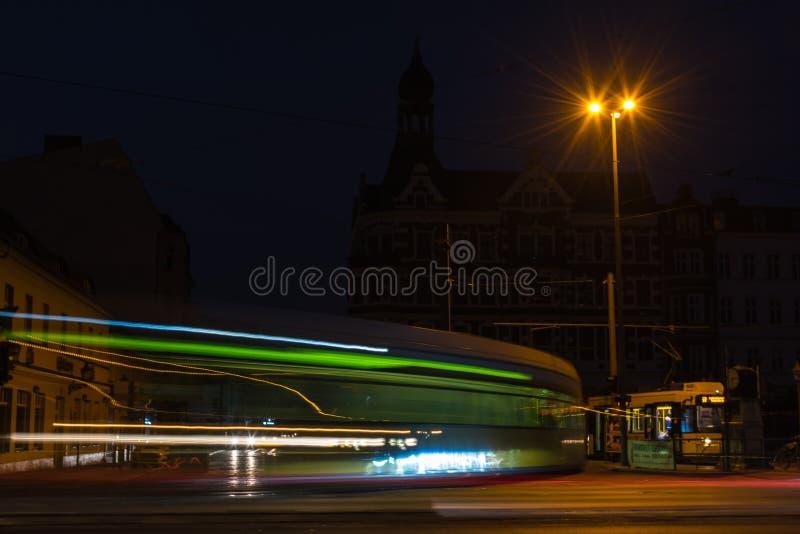 Koepenick na noite sem eletricidade Berlim, Alemanha - 02 20 2019 imagens de stock royalty free