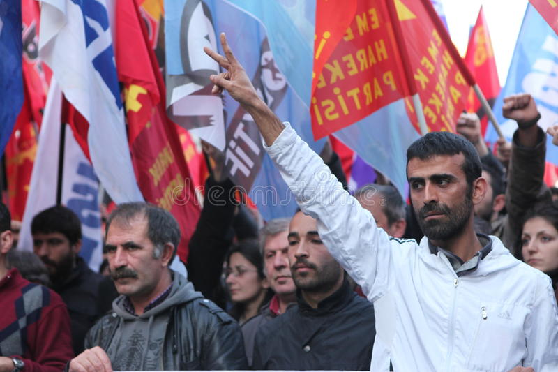 Koerdisch Feest Newroz royalty-vrije stock foto's