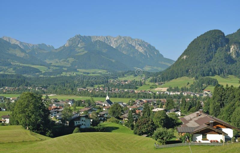 Koessen, le Tirol, Autriche photographie stock