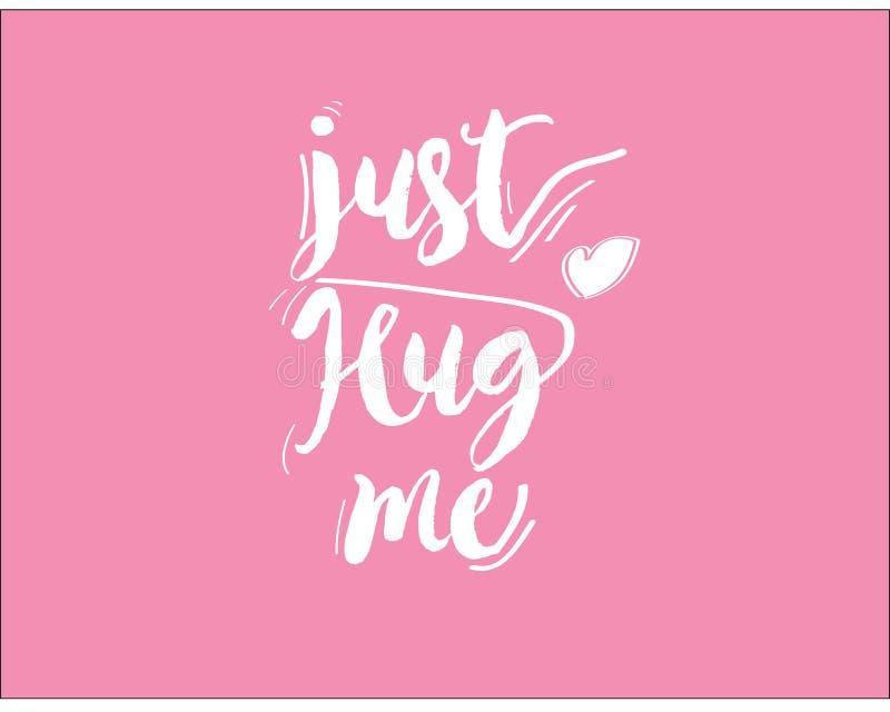 Koester me enkel pictogram met roze achtergrond vector illustratie