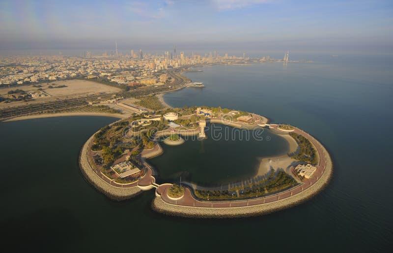 Koeweit van de Hemel stock afbeelding
