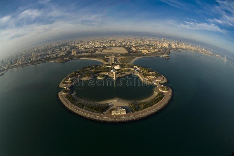 Koeweit van de Hemel royalty-vrije stock afbeelding