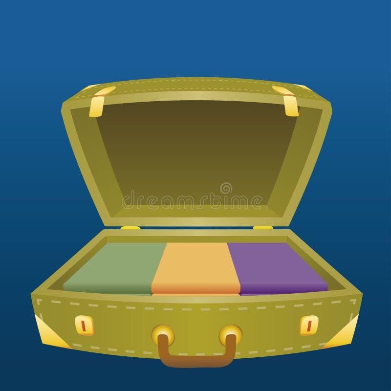 Download Koffer vector illustratie. Illustratie bestaande uit roze - 10779511