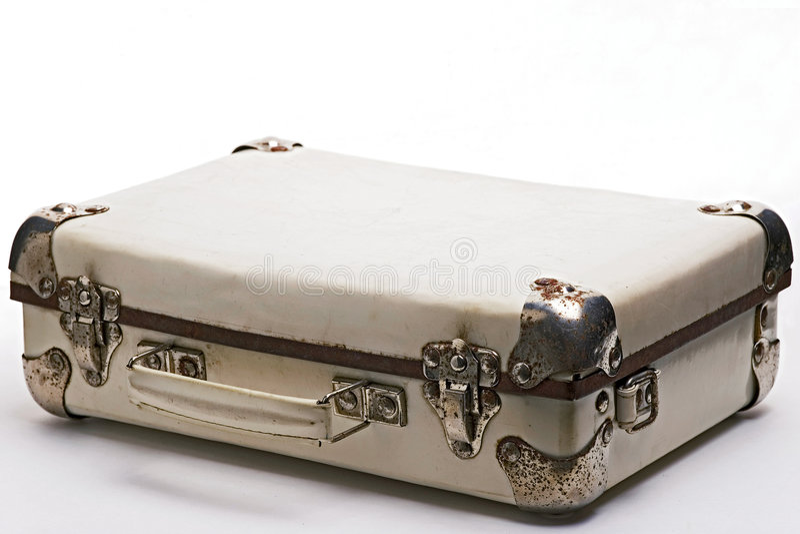 Koffer stock afbeelding
