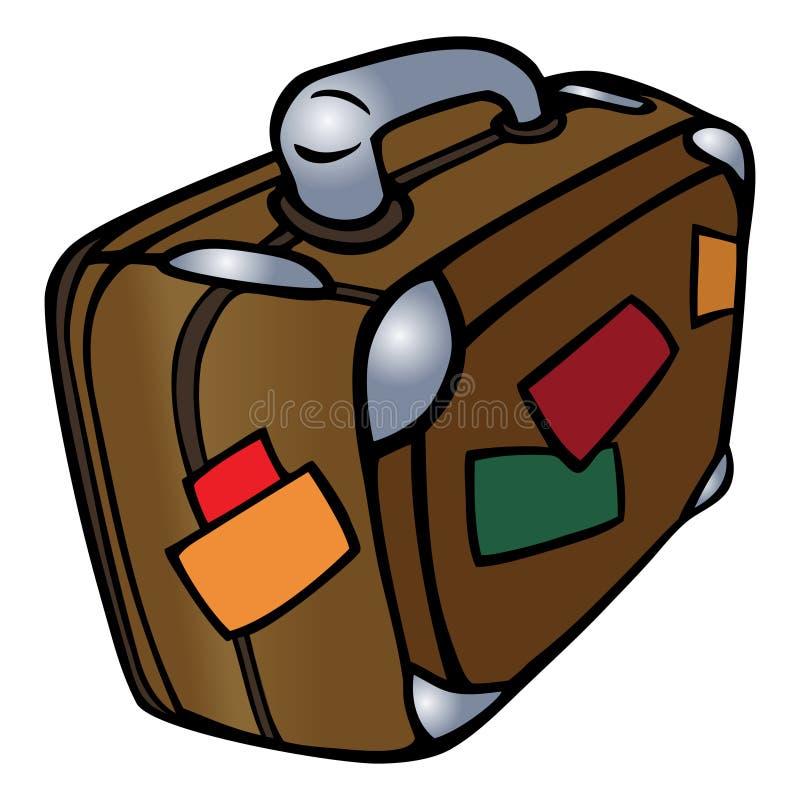 Koffer royalty-vrije illustratie