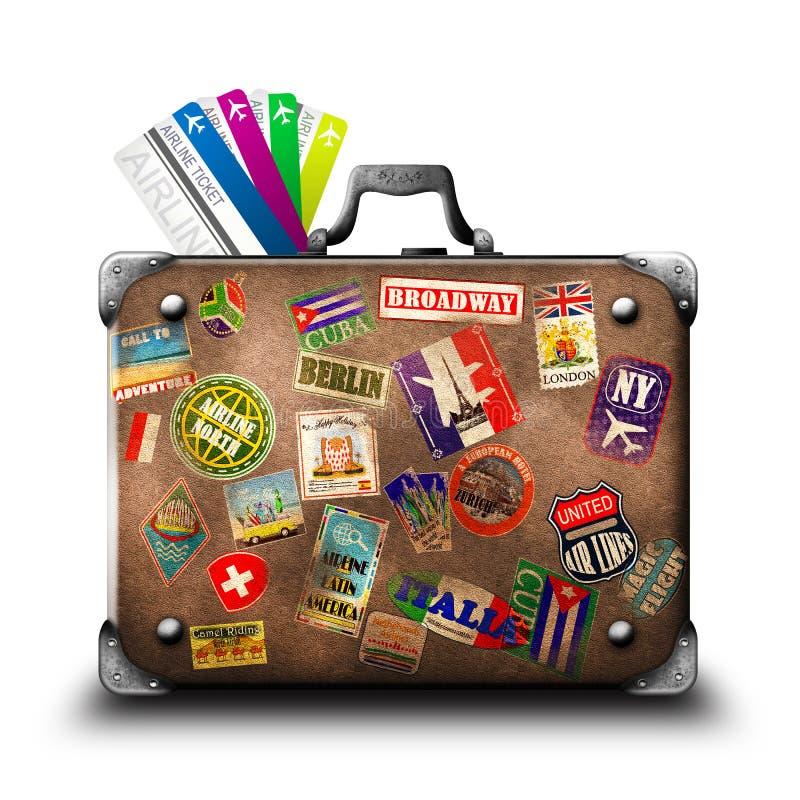 Koffer vector illustratie