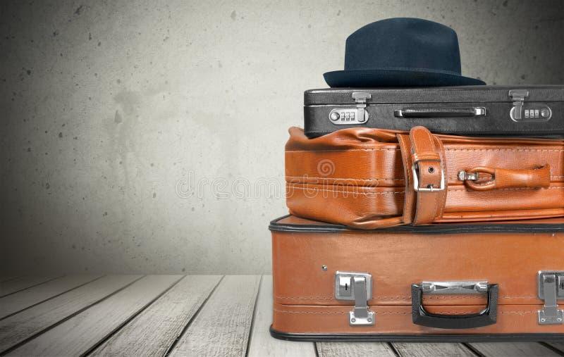 Koffer-Gepäck lizenzfreies stockfoto