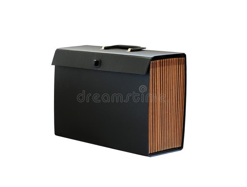 Download Koffer voor documenten stock foto. Afbeelding bestaande uit zwart - 10781008
