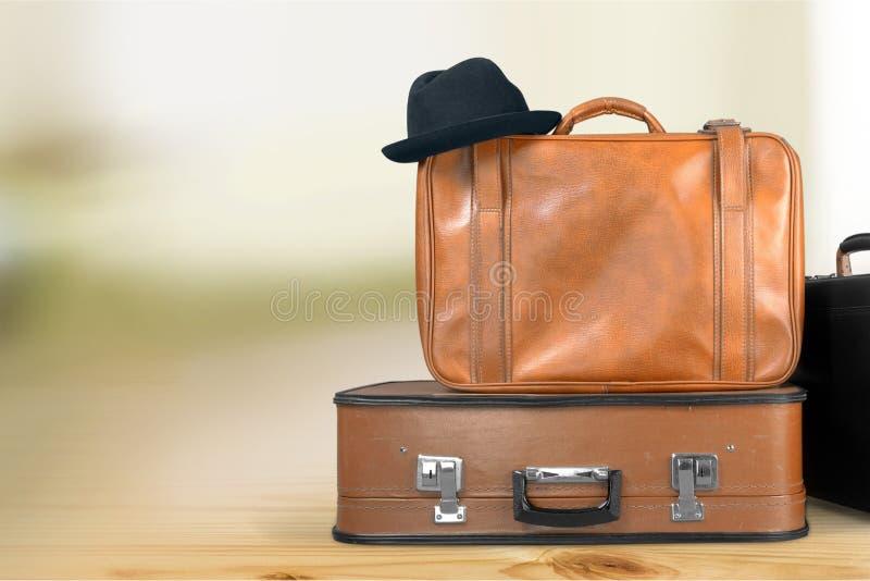 Kofferbagage royalty-vrije stock fotografie