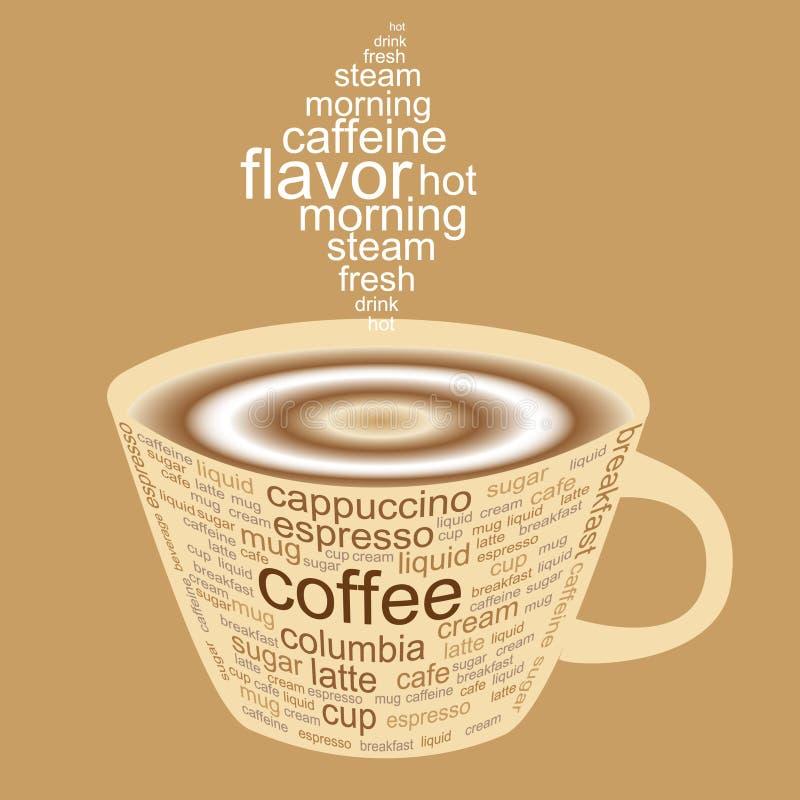Koffie stock illustratie