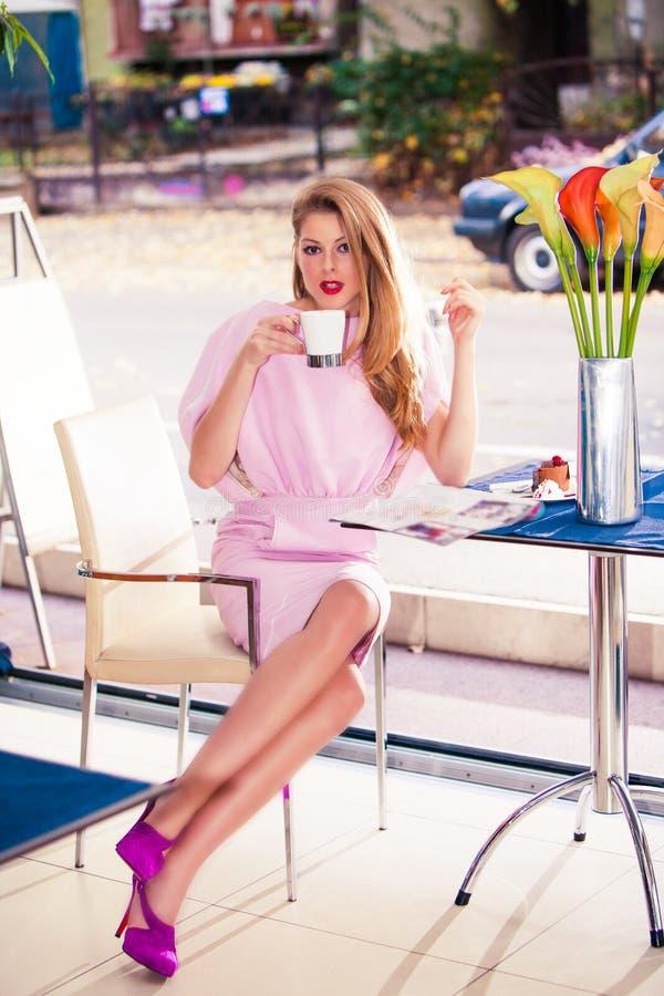 In koffie royalty-vrije stock foto