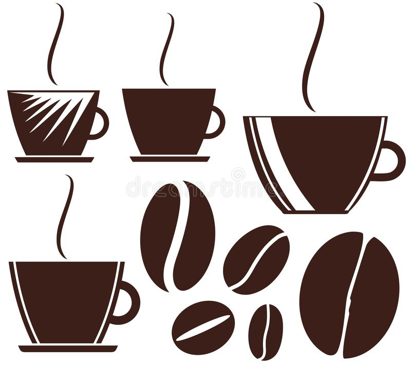 Koffie royalty-vrije illustratie