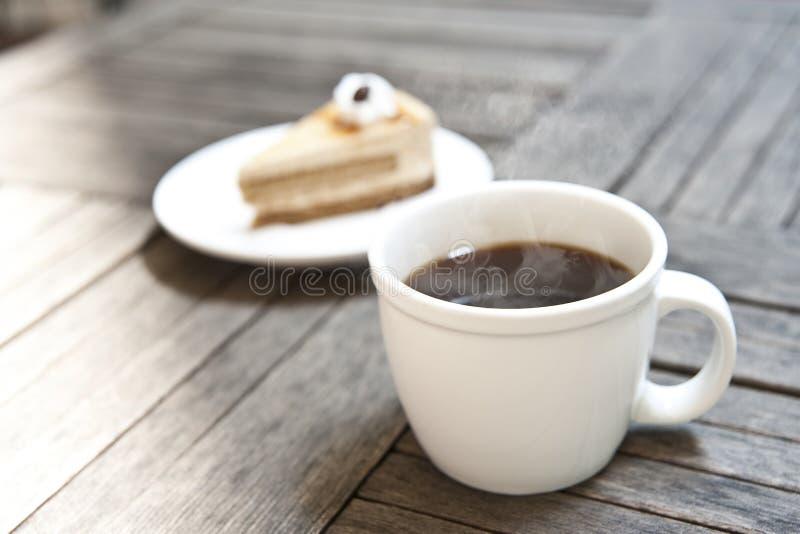 Koffie-Americano royalty-vrije stock foto