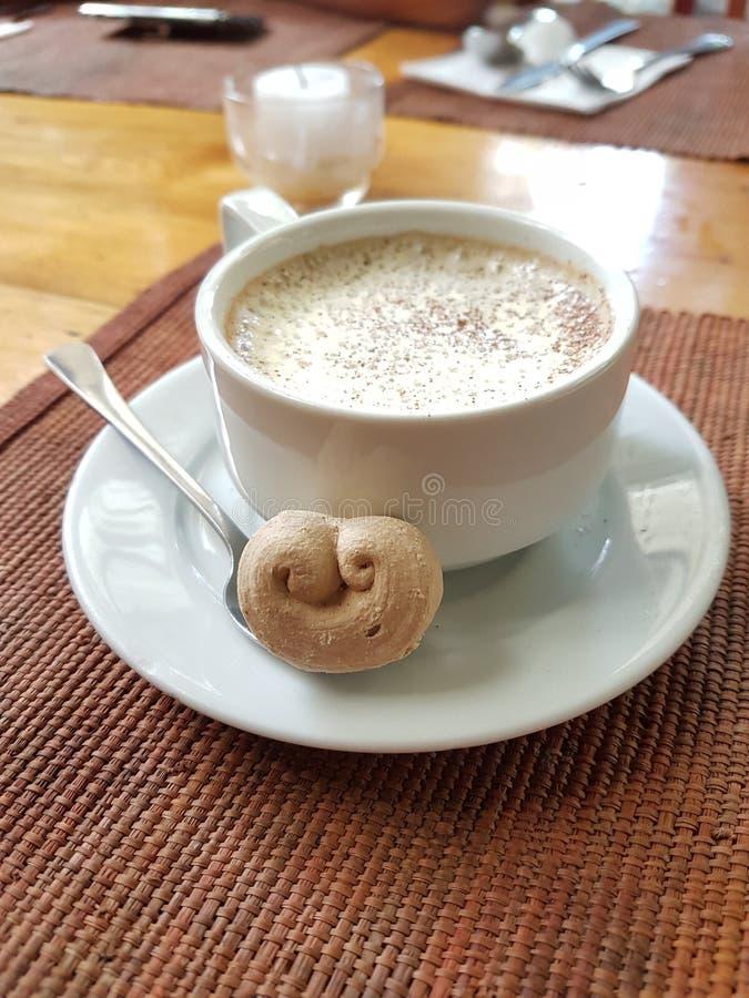 Koffie bij Koffie door de Ruïnes Baguio Filippijnen stock foto's