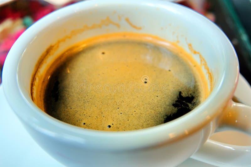 Koffie in de ochtend royalty-vrije stock afbeeldingen