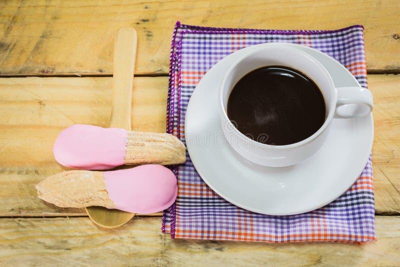Koffie en chocolade royalty-vrije stock fotografie