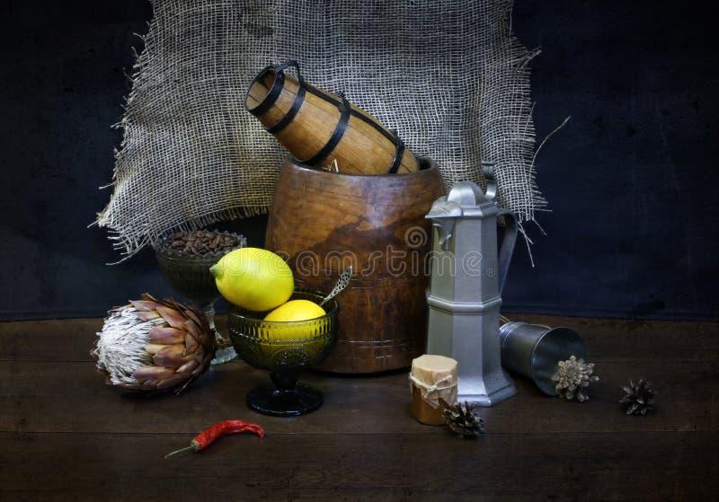 Koffie en theestemming stock afbeeldingen