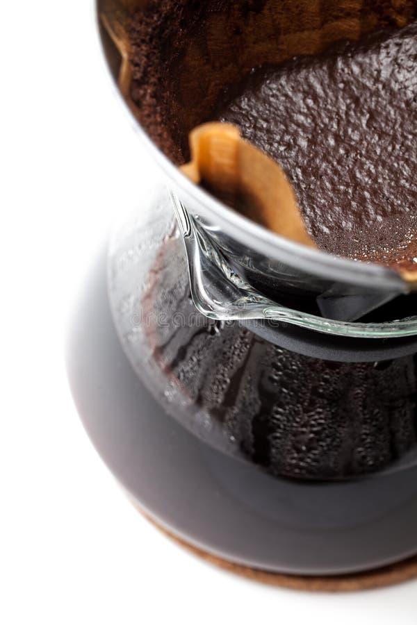 Koffie gefiltreerd beeing stock fotografie