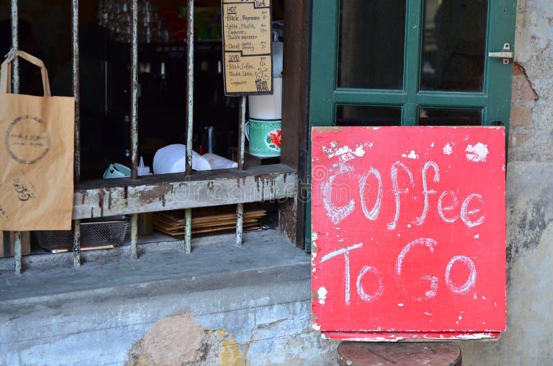 Koffie in Ipoh royalty-vrije stock foto's