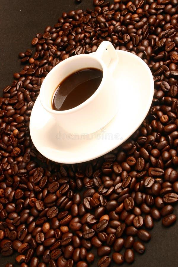 Koffie, koffiebonen royalty-vrije stock foto's