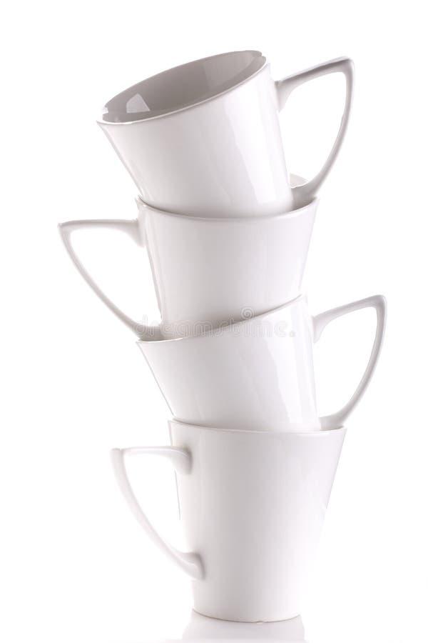 koffie koppen stock afbeeldingen