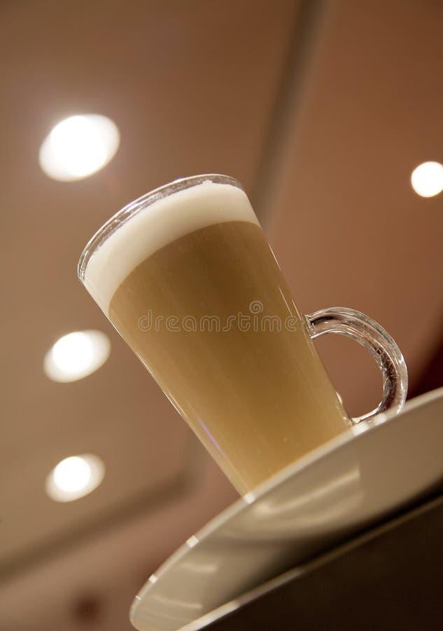 Koffie Latte royalty-vrije stock foto