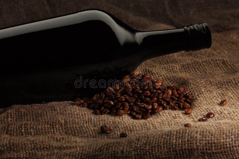 Koffie Met Alcohol Stock Afbeeldingen
