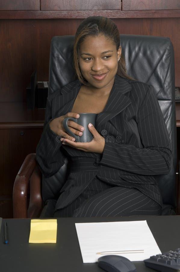 Koffie met een glimlach royalty-vrije stock afbeelding